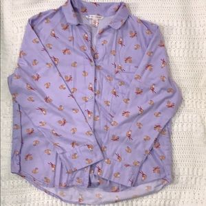 Victoria's Secret Christmas pajamas.